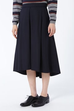 【先行予約 9月上旬お届け予定】サキソニータックフレアースカート