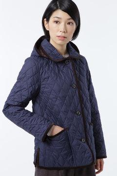 【先行予約 10月上旬お届け予定】キルティングコート
