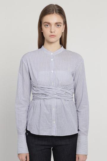 オルガスタンドカラーシャツ