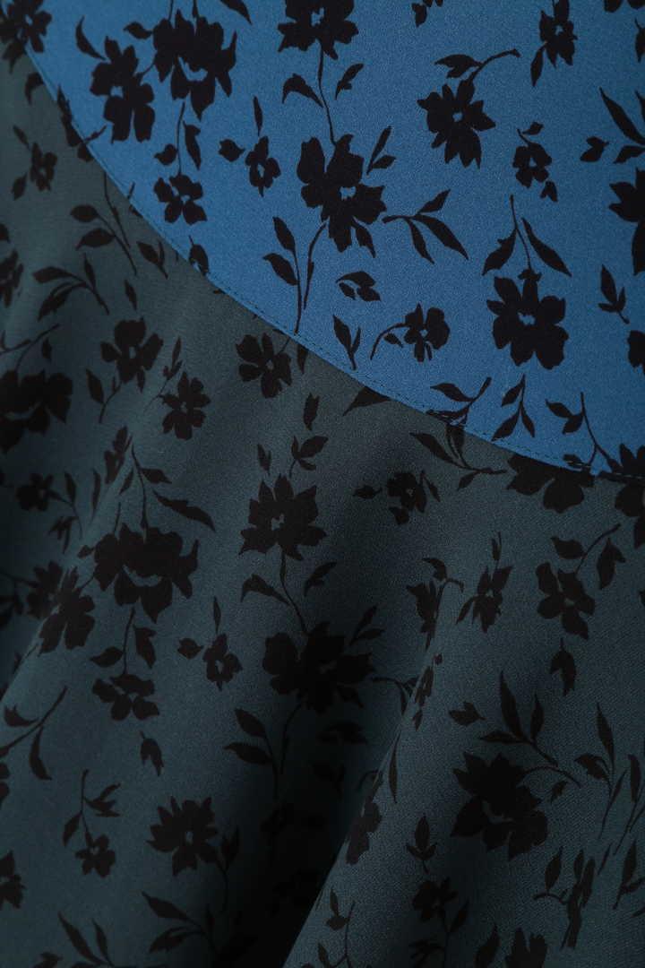 ケイティ花柄イレギュラーヘムスカート