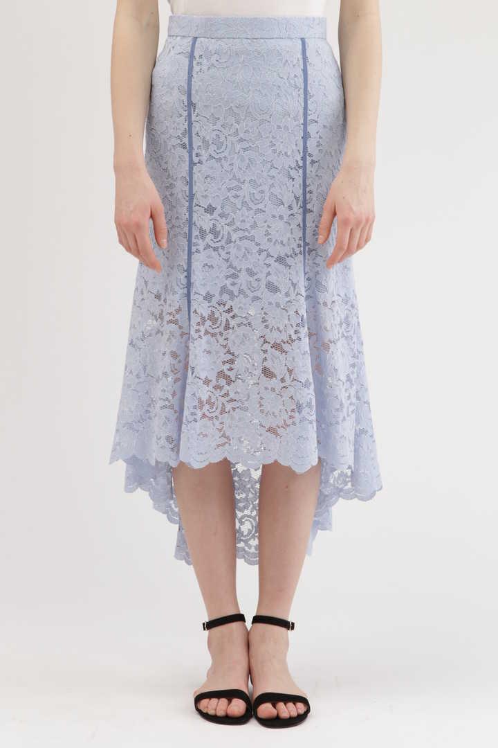 【先行予約 3月中旬お届け予定】ユリアレースマーメイドスカート