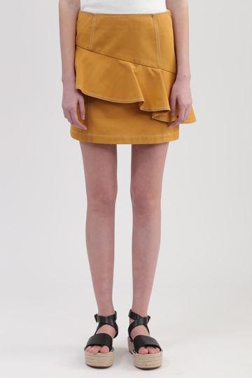 【先行予約 4月中旬お届け予定】《DICKIES》コラボカラーステッチミニスカート