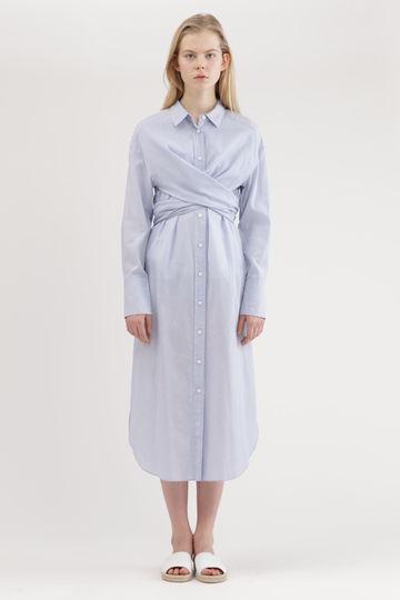 ディナラシャツドレス