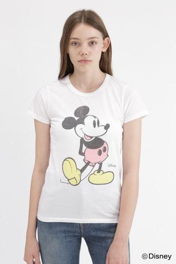 《JUNKFOOD》MICKEY&MINNIE Tシャツ
