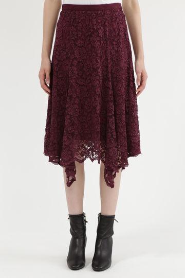 【先行予約 9月上旬お届け予定】リアナヘムレーススカート