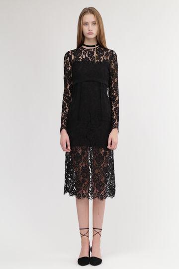 《JILLSTUART White》ヴィヴィレースドレス