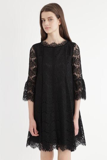 【先行予約 9月上旬お届け予定】《JILLSTUART White》メイプルレースドレス