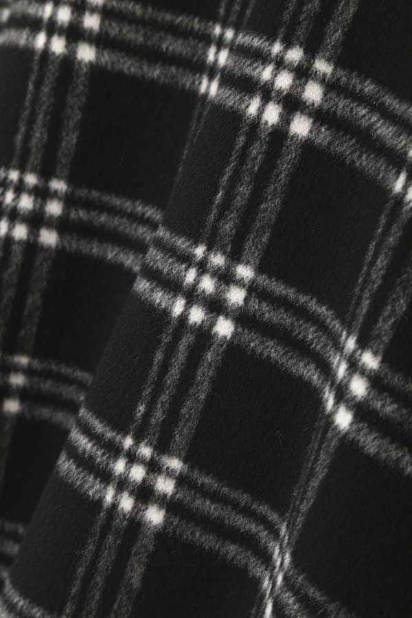 【AneCan 12月号掲載】【CanCam 12月号掲載】シャギーチェックスカート