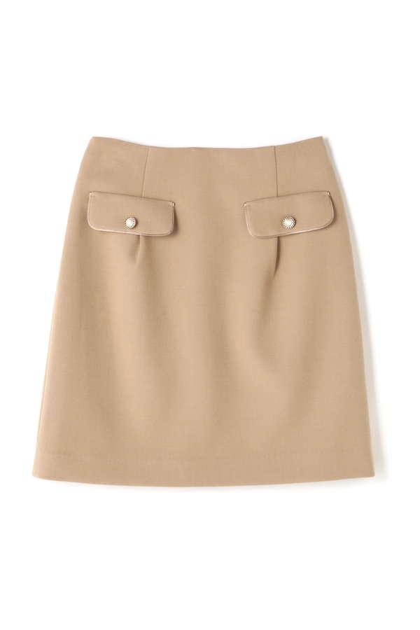 フラップコクーンスカート