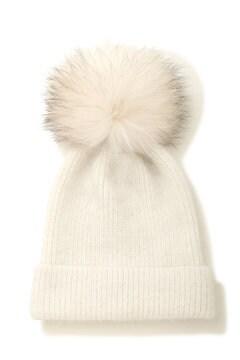 《EDIT COLOGNE》ポンポンリブワッチ帽
