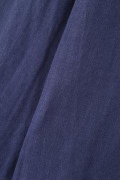 《BLANCHIC》カラーリネンシャツ