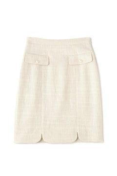 スプリングツィードスカート