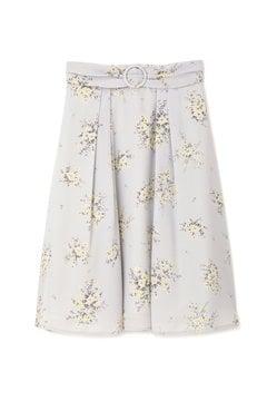 【CanCam 5月号掲載】【美人百花 4月号掲載】フラワーブーケスカート