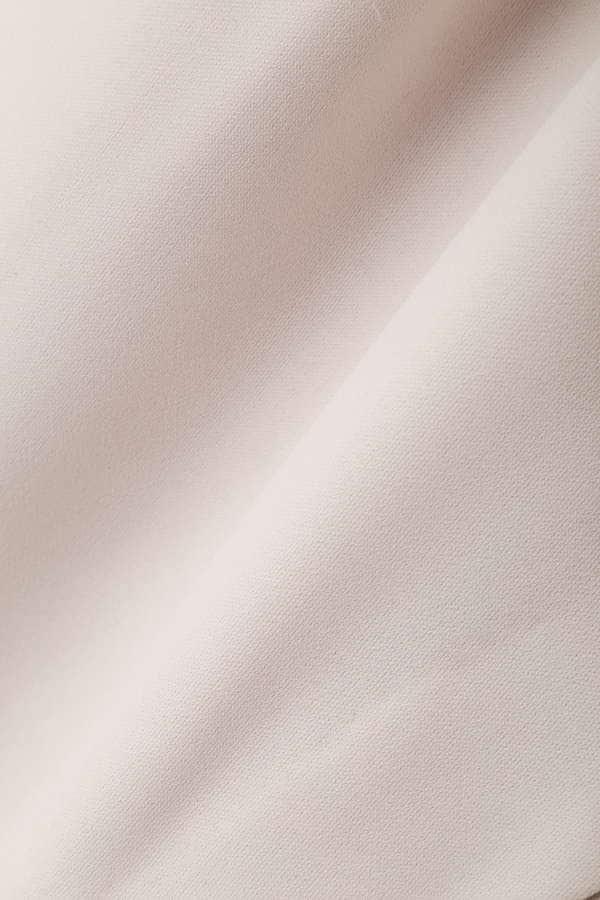 パウダリーサテンクレープスカート