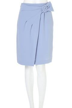 クレープサテンスカート