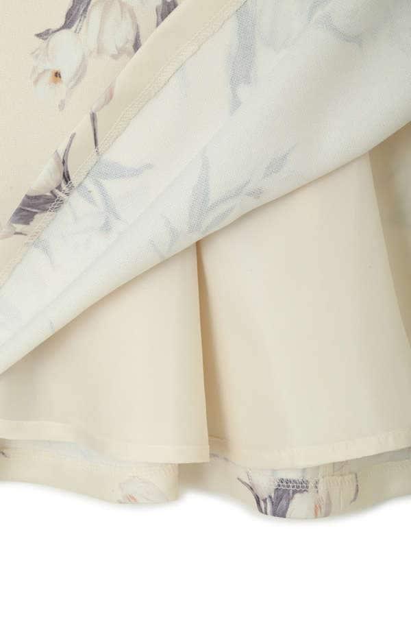 【CanCam 5月号掲載】フラワーフレアスカート