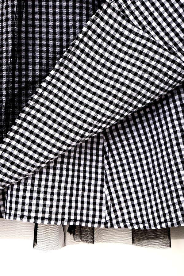 【美人百花 5月号掲載】《EDIT COLOGNE》ギンガムチェックスカート