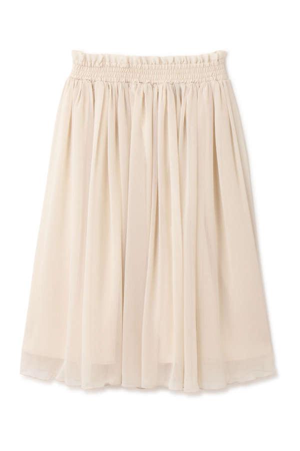 《EDIT COLOGNE》シアークレープスカート