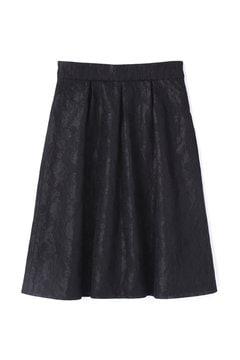《EDIT COLOGNE》シフォンボンディングフラワースカート