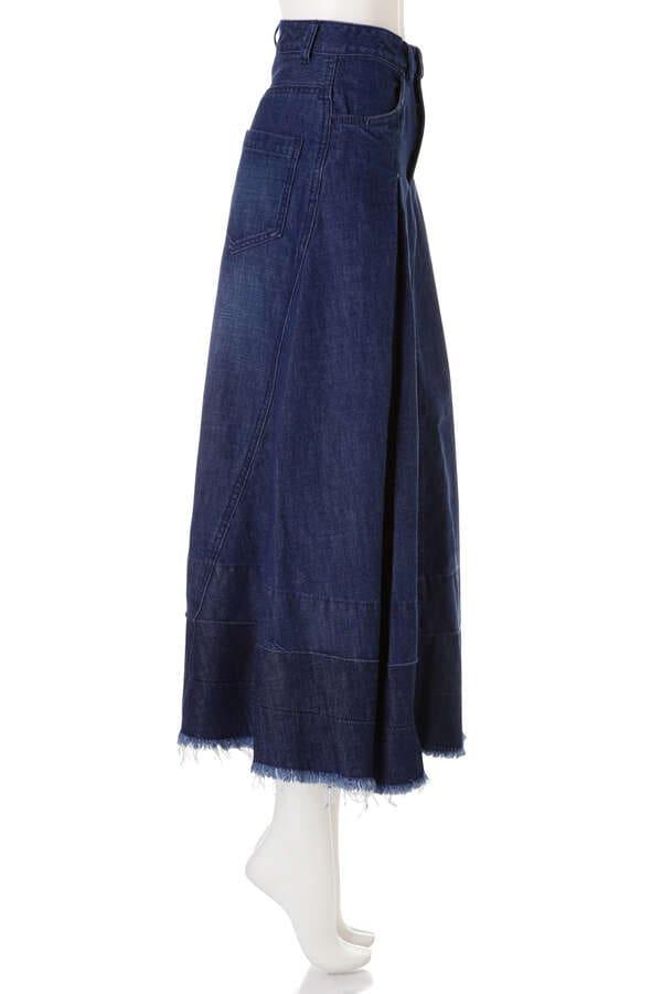 《BLANCHIC》ロングデニムスカート