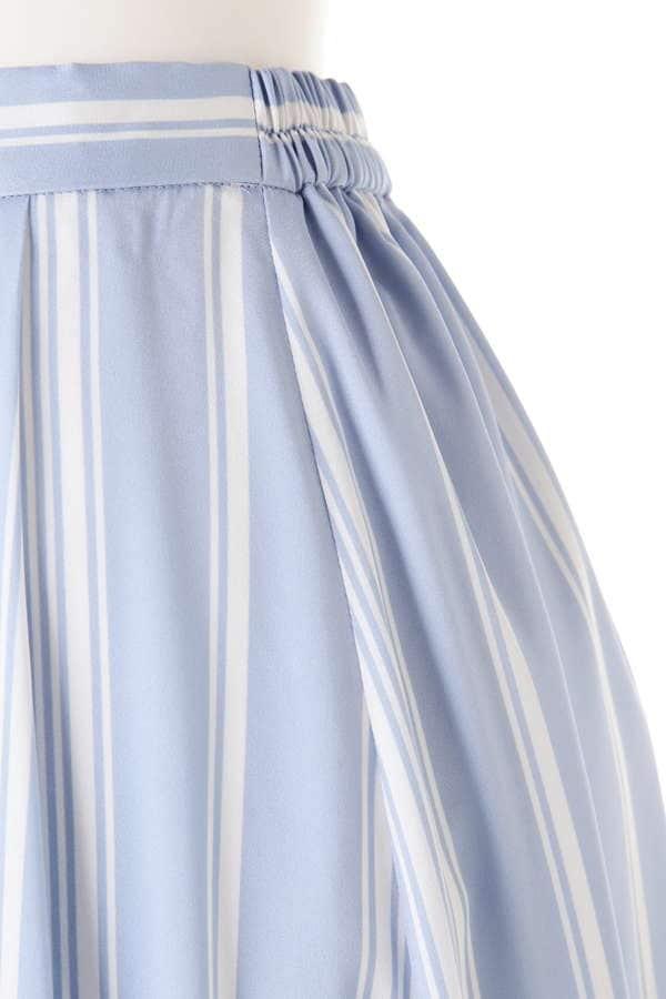 《BLANCHIC》ストライプジョーゼットスカート
