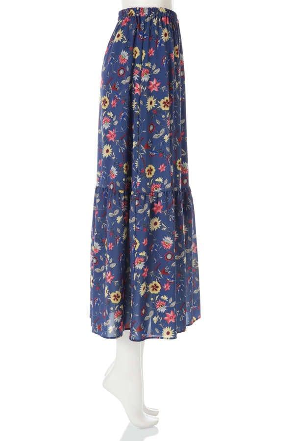 《BLANCHIC》ヴィンテージプリントスカート