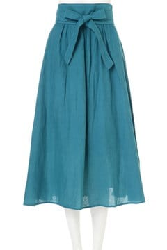 《BLANCHIC》カラーリネンスカート