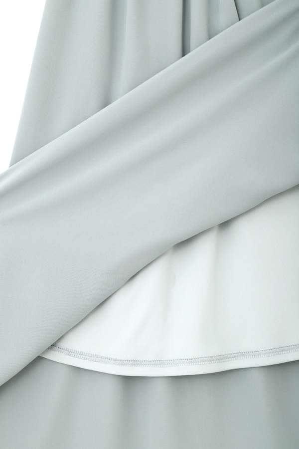 《BLANCHIC》ノッチネックラッフルスカート