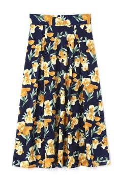 《BLANCHIC》カラフルフラワーPTスカート