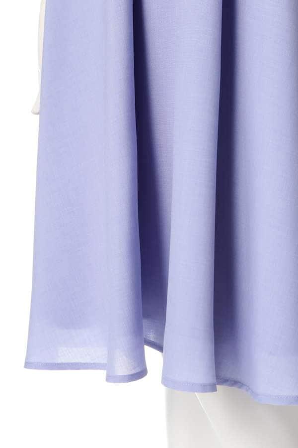 【美人百花 5月号掲載】カラーライクリネンワンピース