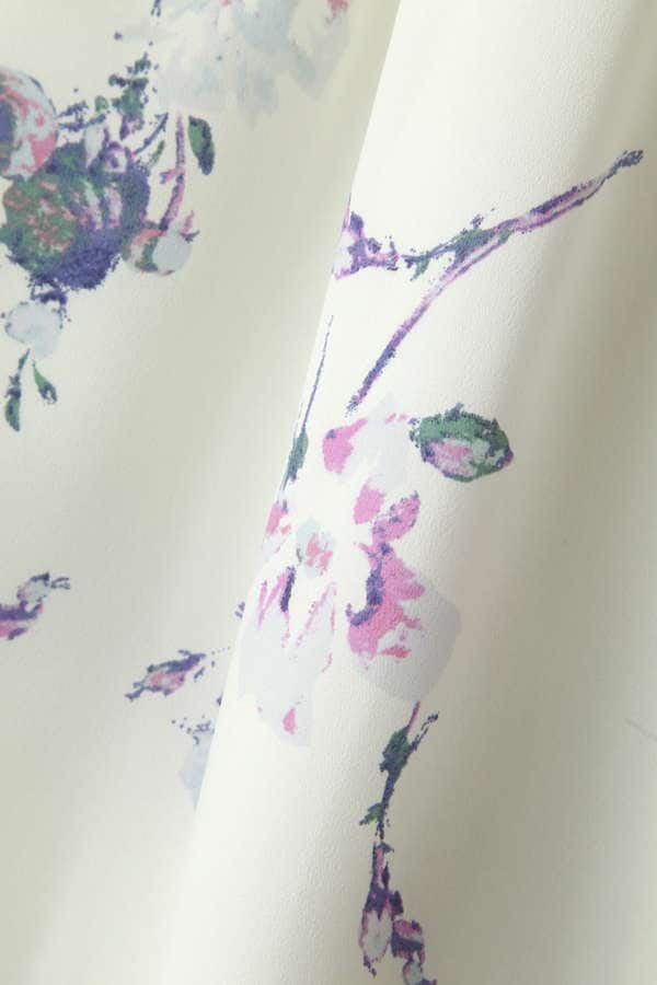 【美人百花 6月号掲載】ヴィンテージフラワープリントワンピース