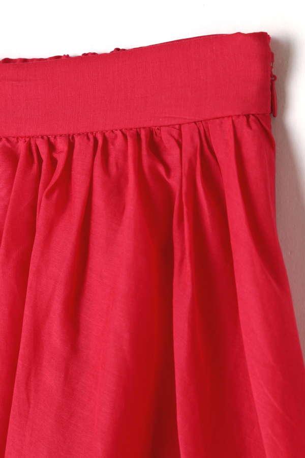 スパンボイルスカート