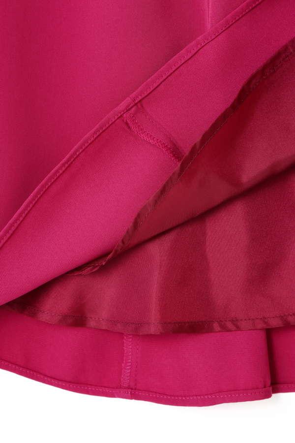 [WEB限定]ベルト2本付アシメラッフルスカート