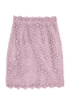 オータムケミカルレースタイトスカート