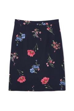 ビッグボタニカルプリントスカート