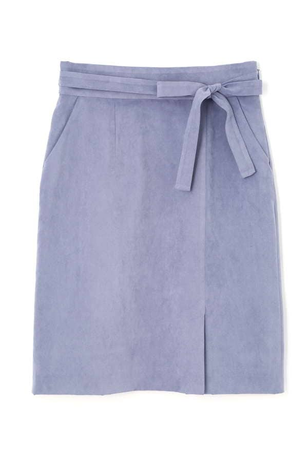 【先行予約_8月下旬入荷予定】シルキースエードタイトスカート