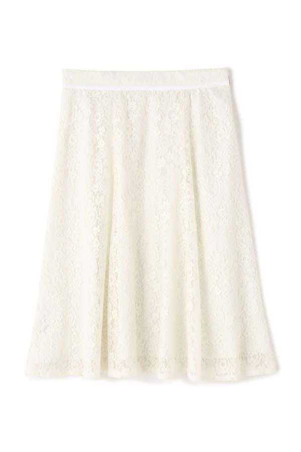 パネルレーススカート