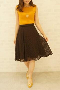 【Ray11月号掲載】パネルレーススカート