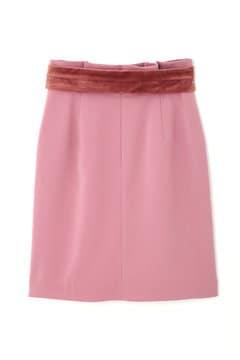 【先行予約_9月中旬入荷予定】オータムベルベットリボンスカート
