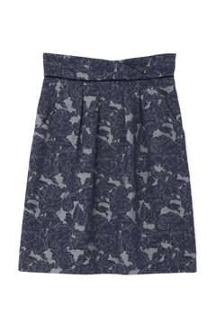 ローズジャガードタイトスカート
