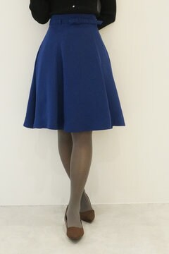 【cancam 11月号掲載】オータムカラーフレアースカート