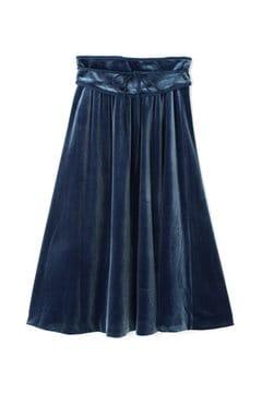 《EDIT COLOGNE》ベロアフレアースカート