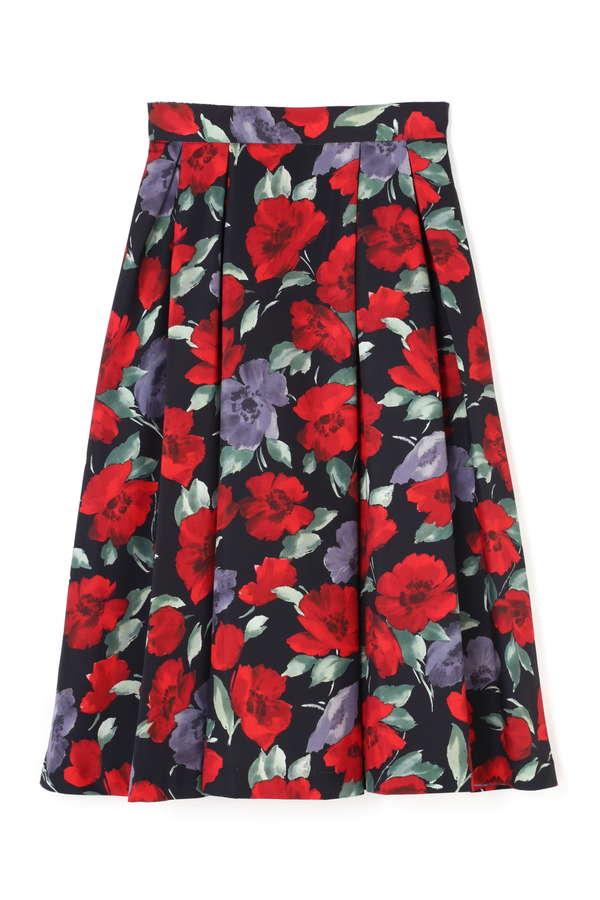 《EDIT COLOGNE》レトロヴィンテージフラワースカート