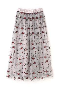 《EDIT COLONGE》チュールエンブロイダリースカート