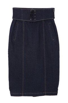《EDIT COLOGNE》レースアップベルト付きスカート