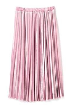 《BLANCHIC》ストレッチベロアプリーツスカート
