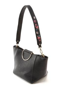 刺繍ショルダートートバッグ