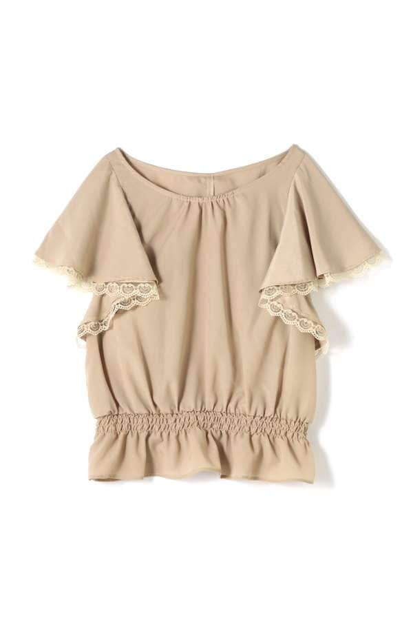 DRAPE TURTLE BLOUSE