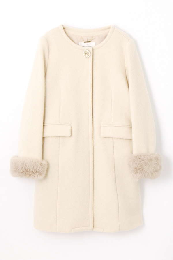 【CanCam 1月号掲載】ROMANTIC KERSEY COAT