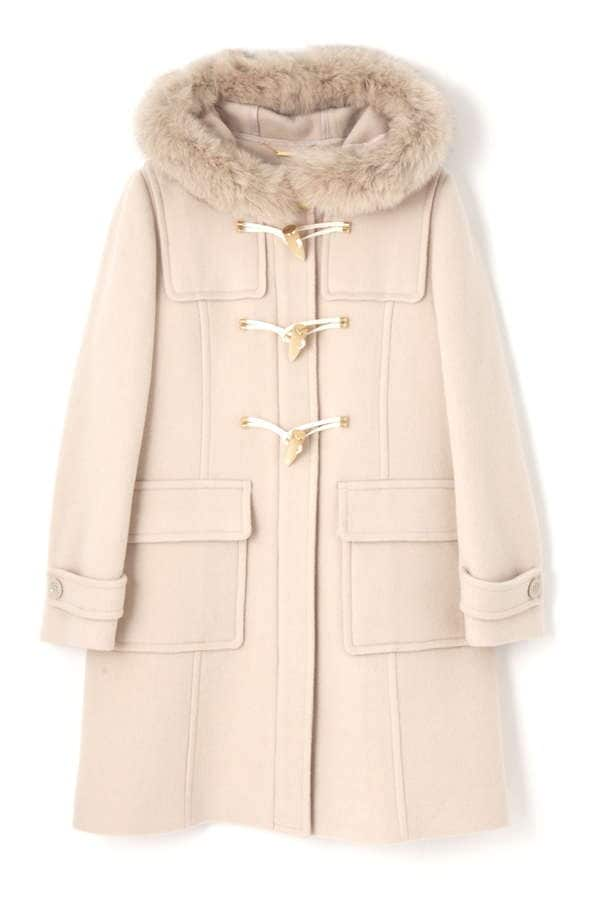 【CanCam 12月号掲載】FROSSY MOUSSER DUFFLE COAT